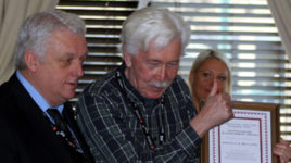 Stalwart CPBF activist Granville Williams has been honoured with a top trade union award