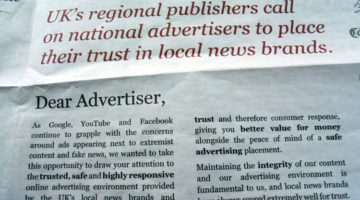 Publishers' letter seen as vindicating NUJ's local news matters campaign