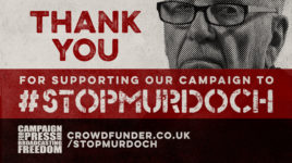 5 ways to support the #StopMurdoch crowdfunder