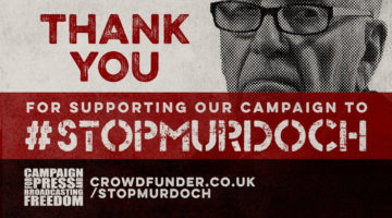 5 ways to support the #StopMurdoch crowdfunder