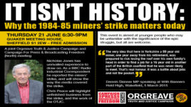 The North Remembers: The Battle of Orgreave